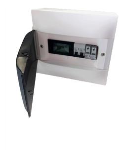Kit String Box Solar Ca P/ Micro Inversor C/ Medidor 4 Em 1
