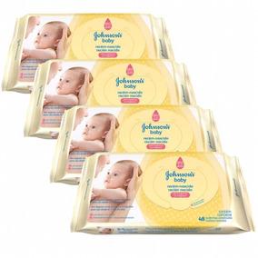 Lenços Umedecidos Recém Nascido Johnsons Baby C/192 Unidades