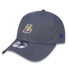 ... Aba Curva Cinza   V · Boné Los Angeles Lakers 940 Core Mini Logo - New  Era 9438046aa23