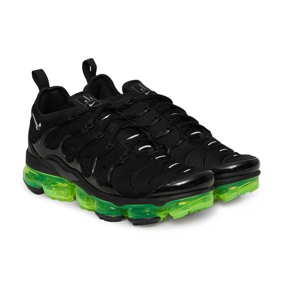 Vapormax Plus Nike Preto E Verde Lançamento Original
