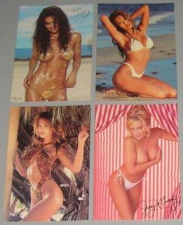 Supermodelos - Lote Com 20 Cartões Postais