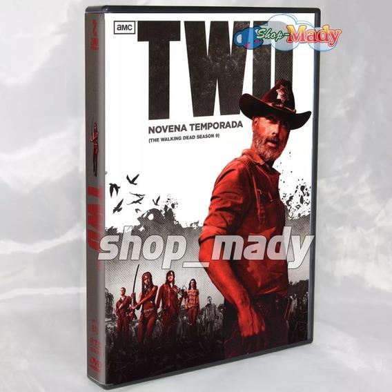 The Walking Dead Temporada 9 Dvd Región 1 Y 4