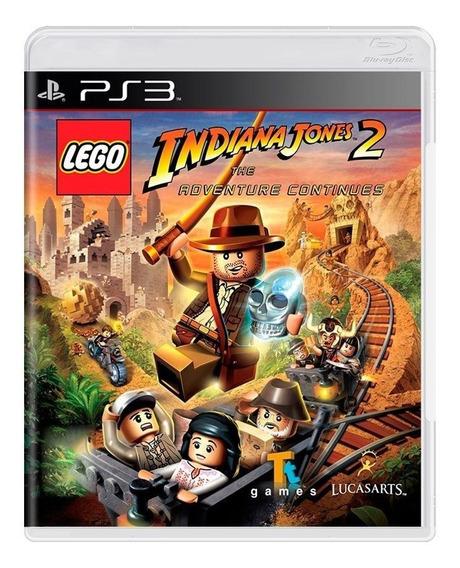 Lego Indiana Jones 2 The Adventure Continues Ps3 Física