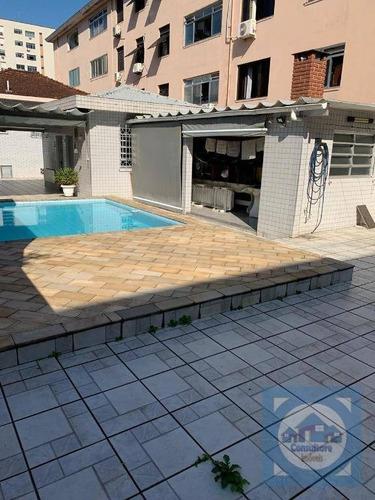 Imagem 1 de 30 de Casa Com 4 Dormitórios À Venda, 500 M² Por R$ 2.550.000,00 - Marapé - Santos/sp - Ca1052