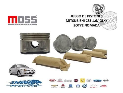 Juego De Pistones Mitsubishi Cs3 Moss Std,10,20,30,40