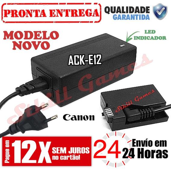 Fonte Ack-e12 Adaptador Ac P/ Canon Eos-m M M2 M10 M50 M100