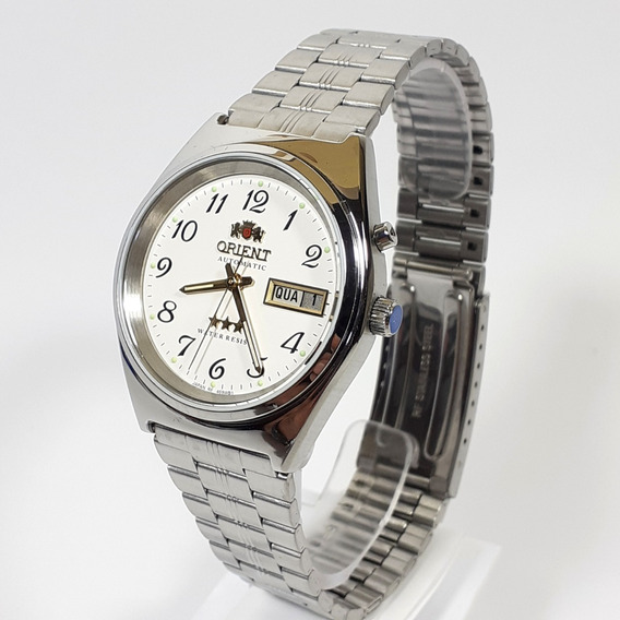 Relógio Automático Masculino Orient 469wb1a Fundo Branco