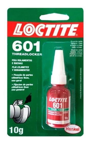 Cola Adesivo Fixa Rolamentos E Buchas Loctite 601 10gr