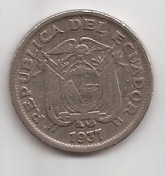 Ecuador Moneda De 1 Sucre Año 1937 !!!
