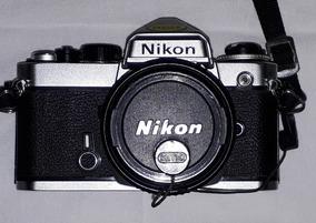 Nikon Fe Linda Único Dono
