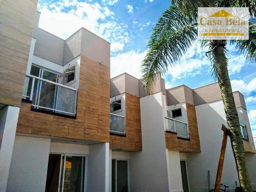 Sobrado Com 2 Dormitórios À Venda, 63 M² Por R$ 270.000 - Bopiranga - Itanhaém/sp - So0912