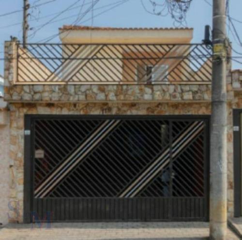 Imagem 1 de 20 de Sobrado Com 3 Dormitórios À Venda, 18 M² Por R$ 535.000 - Cidade São Jorge - Santo André/sp - So0444