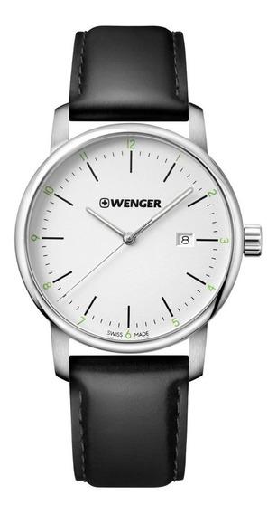 Relógio De Pulso Suíço Wenger Urban Classic 42mm 01.1741.109
