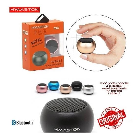 Mini Caixa De Som Bluetooth Speaker 3w H