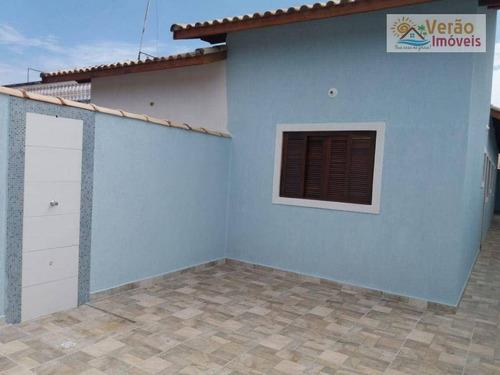 Casa Com 2 Dormitórios À Venda, 64 M² Por R$ 205.000,00 - Parque Balneário Itanhaem - Itanhaém/sp - Ca0872