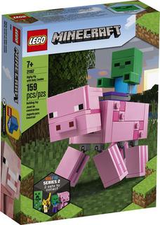 Lego® Minecraft - Bigfig: Cerdo Con Bebé Zombi (21157)