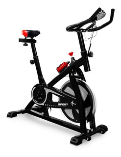 Bicicleta Spinning Fitness / Negro