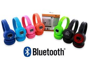 Fone De Ouvido Headphone Sem Fio Micro Sd Usb Fm Bluetooth D