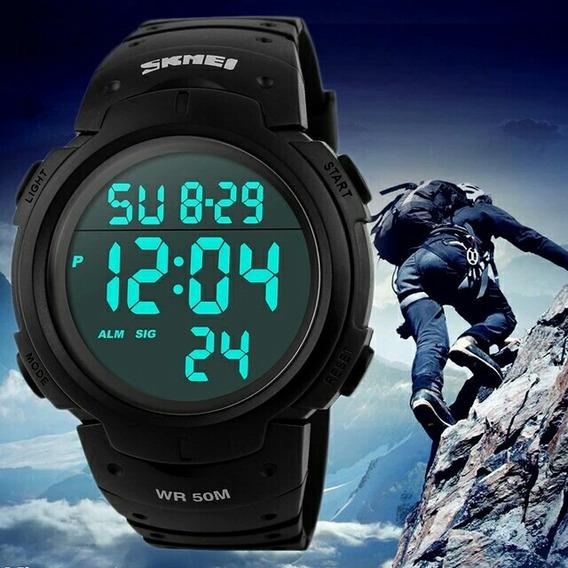 Relógio De Pulso Masculino Digital Skmeicod:115 Prova D