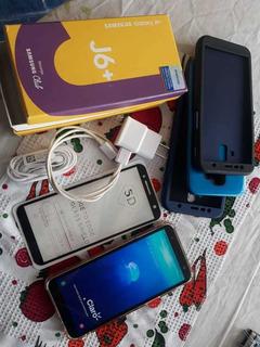 Celular Samsung J6 Plus Huella Doble Camara