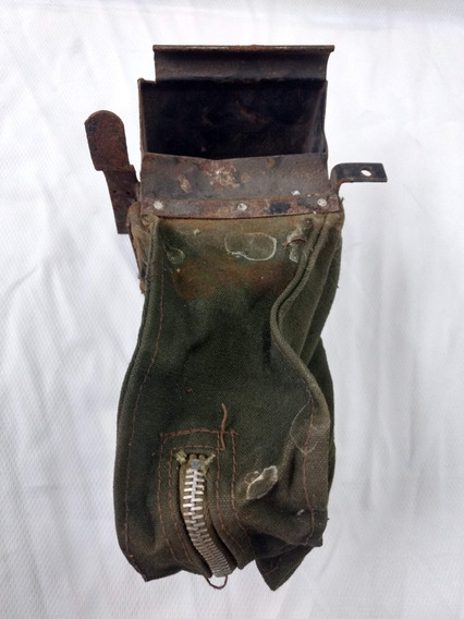 Bolsa Recolectora Vainas Fal Original Militaria Antiuedad
