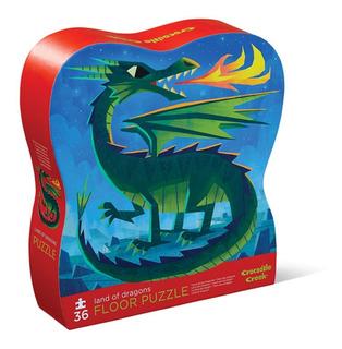 Puzzle Rompecabezas Piso Dragones 36 Piezas Croc Creek