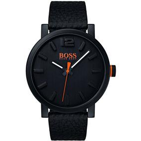 Relógio Hugo Boss Bilbao Couro Preto 1550038