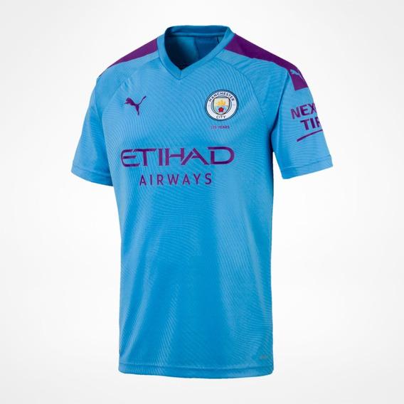 Camisa Puma Manchester City Azul 755586 001 Original