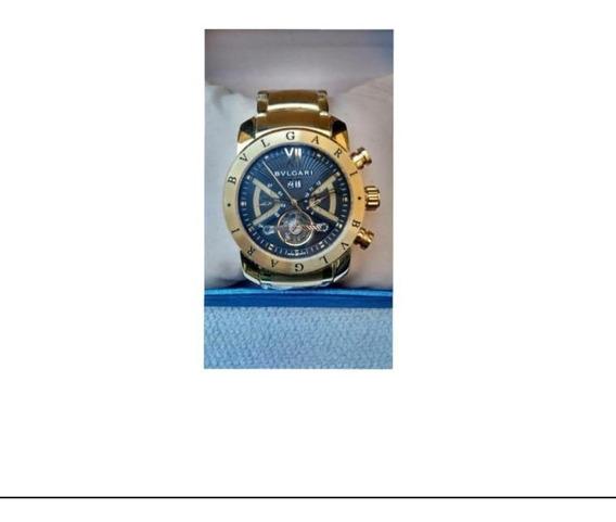 Relógio BvLG Iron Man Ouro Original