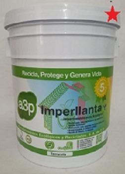 Impermeabilizante De Llanta Marca A3p Imperllanta 5 Años