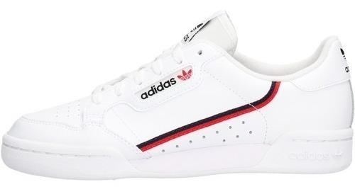 Tenis adidas Originals Continental 80 Jr Bco/rojo F99787