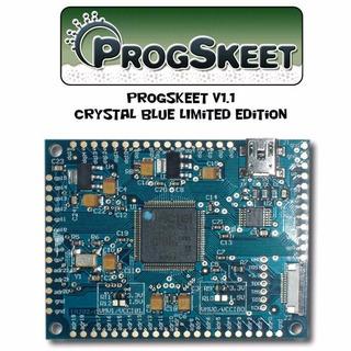 Progskeet V1.1 Pcb [limited Crystal Blue Edition]