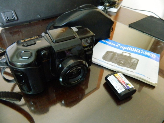 Camera Konica Z-up80rc + Case + Manual + Bateria