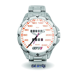 Relógio Painel Gti Branco 240 Km Personalizado