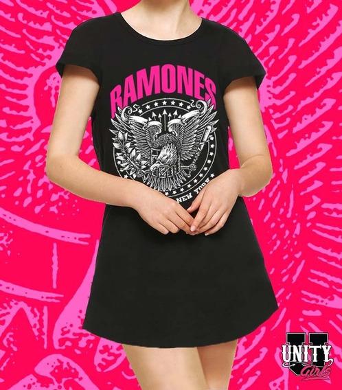 Vestido Playero De Mujer Ramones