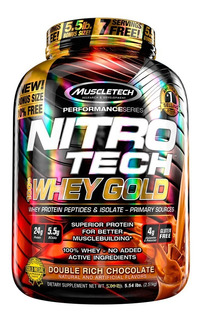 Nitro Tech 100% Whey Gold 5.5 Lb