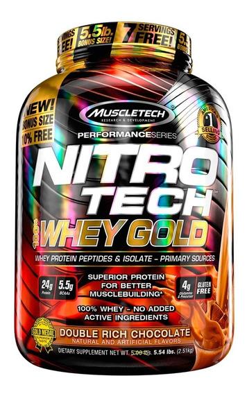 Nitro Tech 100% Whey Gold 5.5 Lb