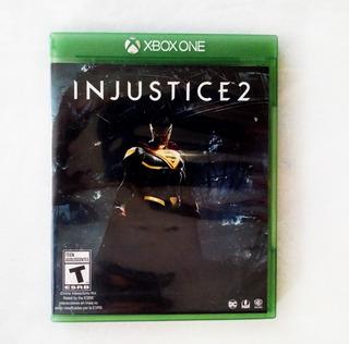 Injustice 2 Xbox One Video Juego Disco Físico