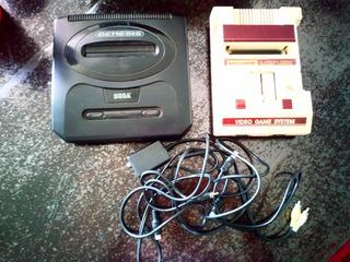 Consola Family Y Sega Genesis