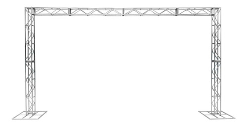 Imagem 1 de 7 de Treliças Kit Trave Box Truss Q20 Aço 3x5m - Lourenço