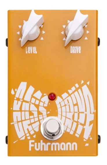 Pedal Para Contra-baixo Fuhrmann Bd-01 Bass Drive