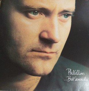 Lp - Phil Collins - But Seriously - 1990