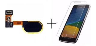 Botão Digital Moto G5 Xt1672 Flex Home Preto Original