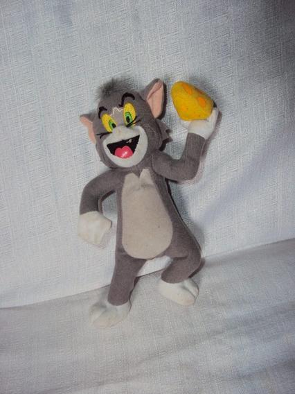 Pelúcia Gato Tom Do Tom E Jerry Hanna Barbera Tamanho 20 Cm