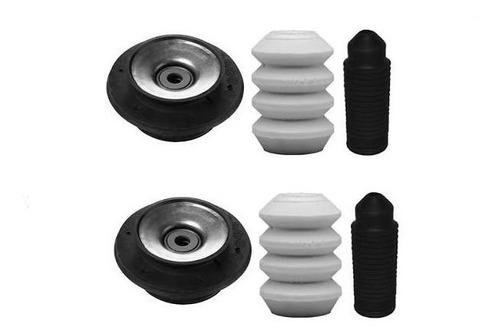 Imagen 1 de 5 de Kit 2 Cazoletas Topes Y Fuelles Delanteros Gol Power