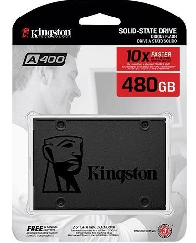 Hd Ssd Kingston 480gb A 400