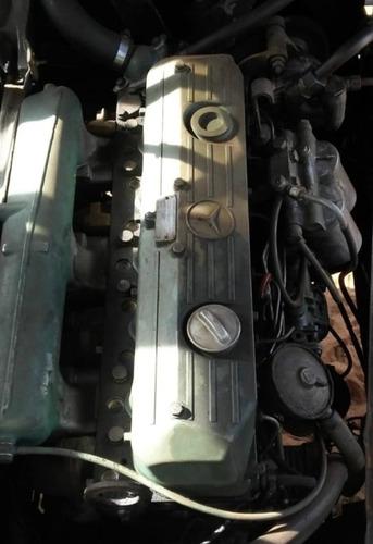 Motor Mb Om 366 Bomba Pequena Revisado Pistoes 1618 Ou 1620