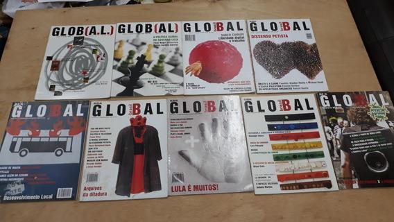 Revista Global Brasil Política De Esquerda 9 Exemplares Raro