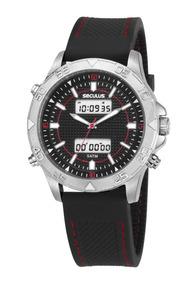 Relógio Masculino Seculus 20618g0svni1 Dia Dos Namorados