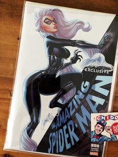 Comic - Amazing Spider-man #800 Scott Campbell C Black Cat